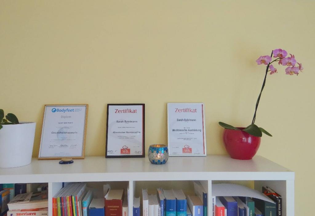 Zertifikate von Sarah Spielmann
